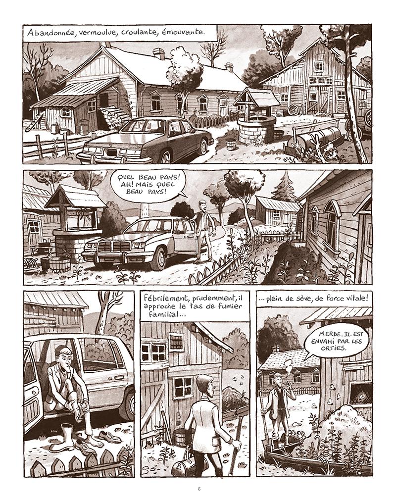 Extrait n°2 de la bd La Forêt des renards pendus par Nicolas Dumontheuil