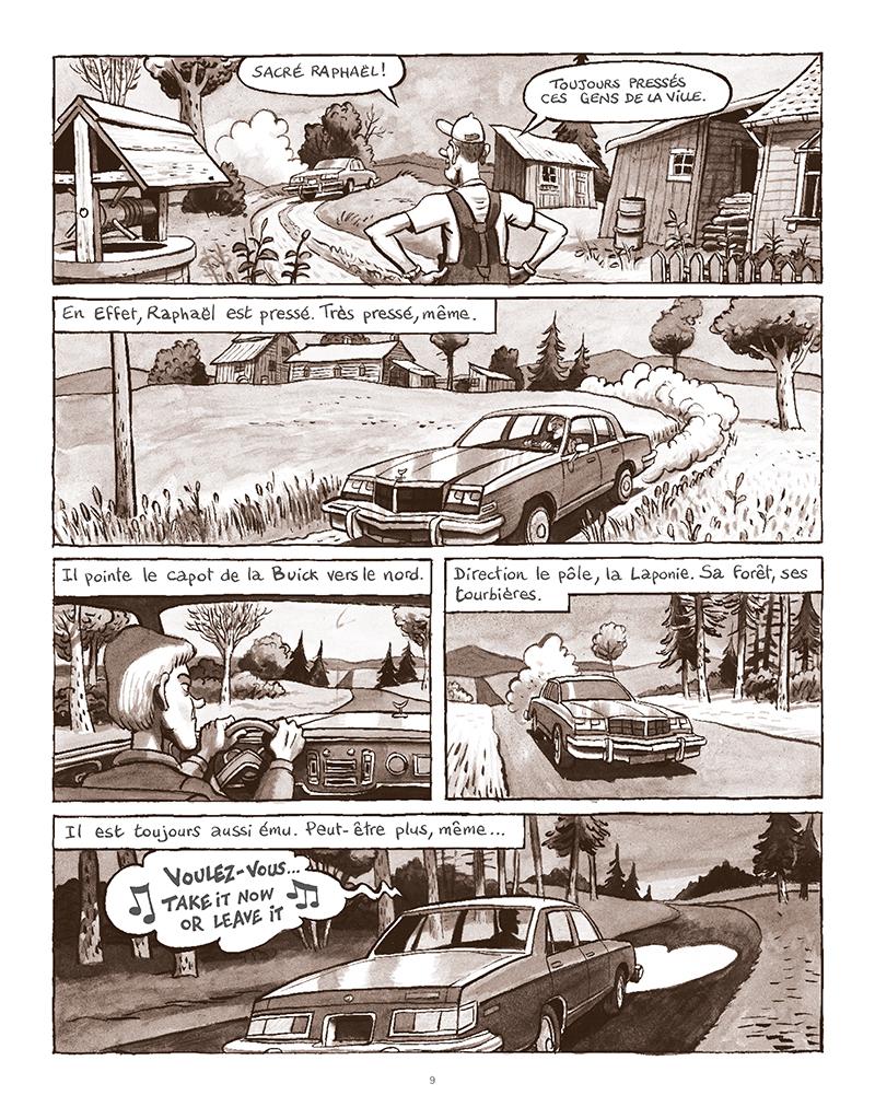 Extrait n°5 de la bd La Forêt des renards pendus par Nicolas Dumontheuil
