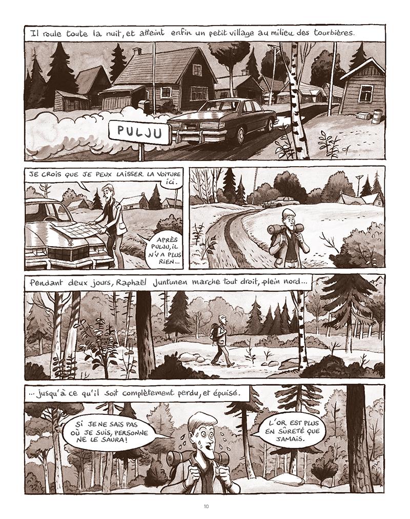 Extrait n°6 de la bd La Forêt des renards pendus par Nicolas Dumontheuil