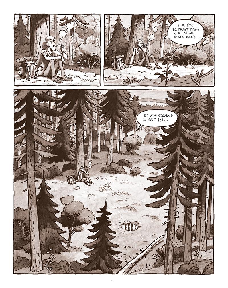 Extrait n°7 de la bd La Forêt des renards pendus par Nicolas Dumontheuil