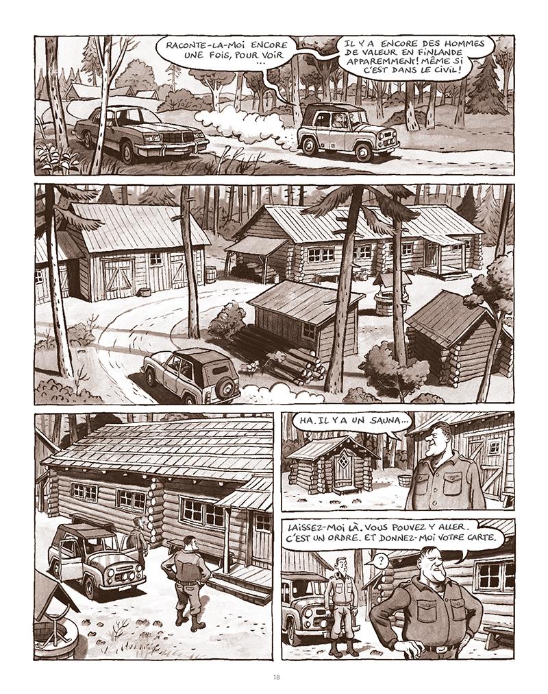 Extrait n°14 de la bd La Forêt des renards pendus par Nicolas Dumontheuil