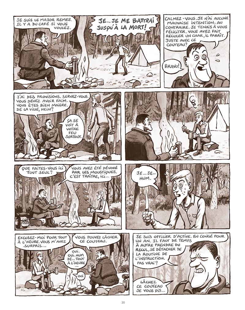 Extrait n°16 de la bd La Forêt des renards pendus par Nicolas Dumontheuil