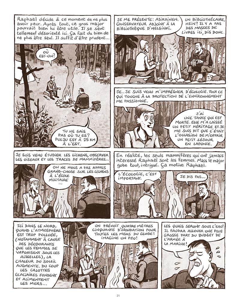 Extrait n°17 de la bd La Forêt des renards pendus par Nicolas Dumontheuil