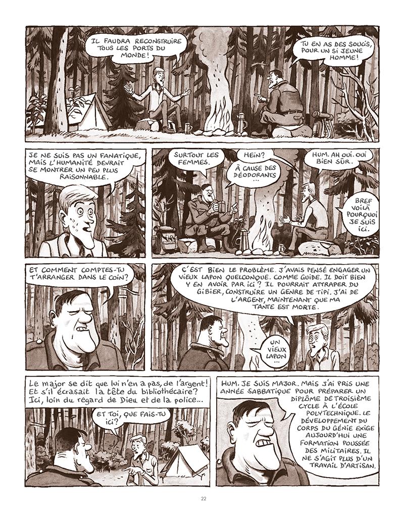 Extrait n°18 de la bd La Forêt des renards pendus par Nicolas Dumontheuil