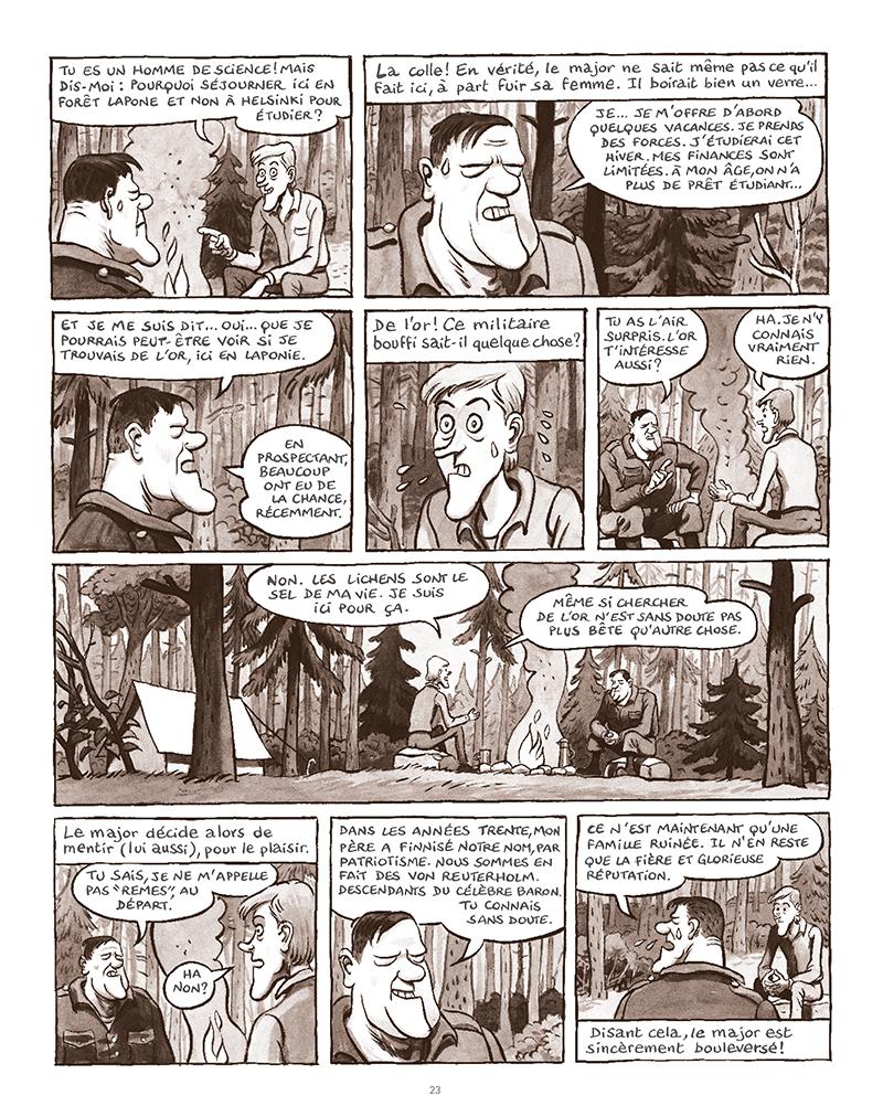 Extrait n°19 de la bd La Forêt des renards pendus par Nicolas Dumontheuil
