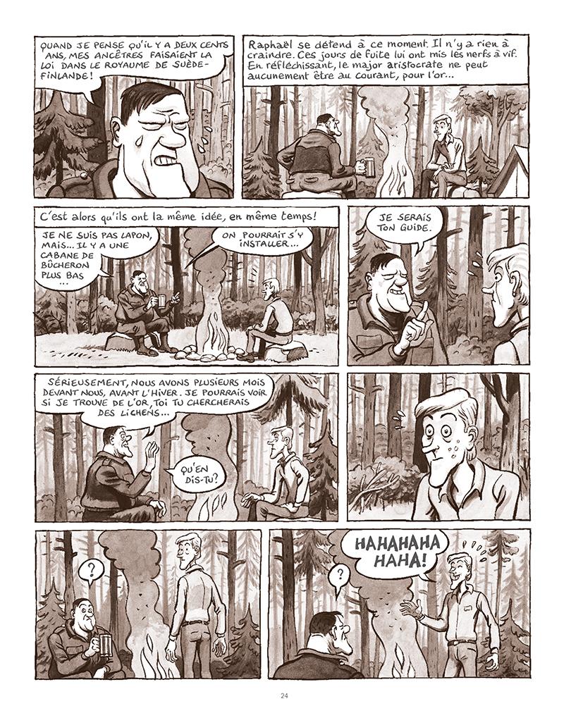 Extrait n°20 de la bd La Forêt des renards pendus par Nicolas Dumontheuil