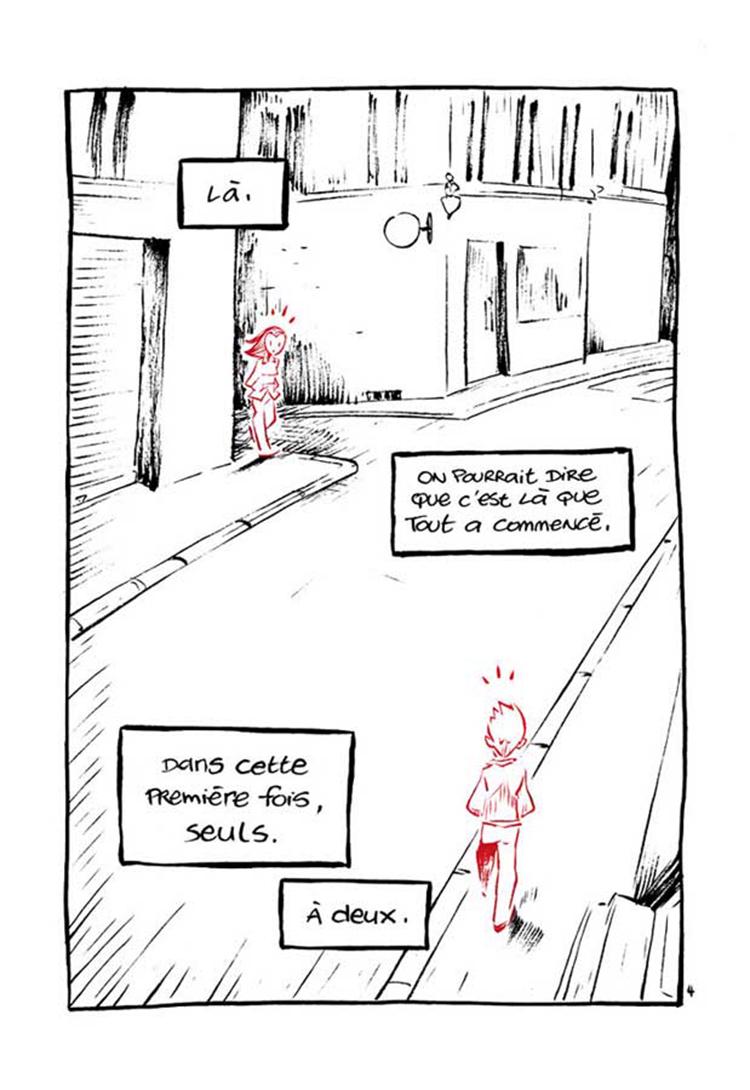 Extrait n°3 de la bd Dans ta Bulle par Domas