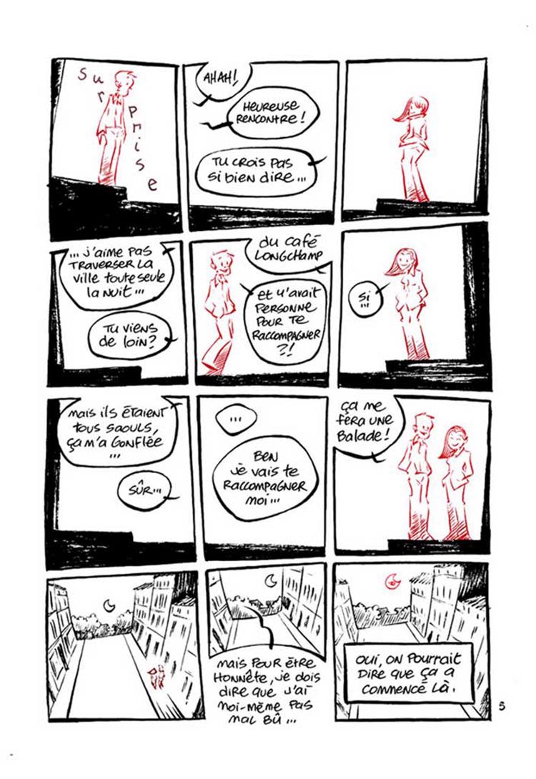 Extrait n°4 de la bd Dans ta Bulle par Domas