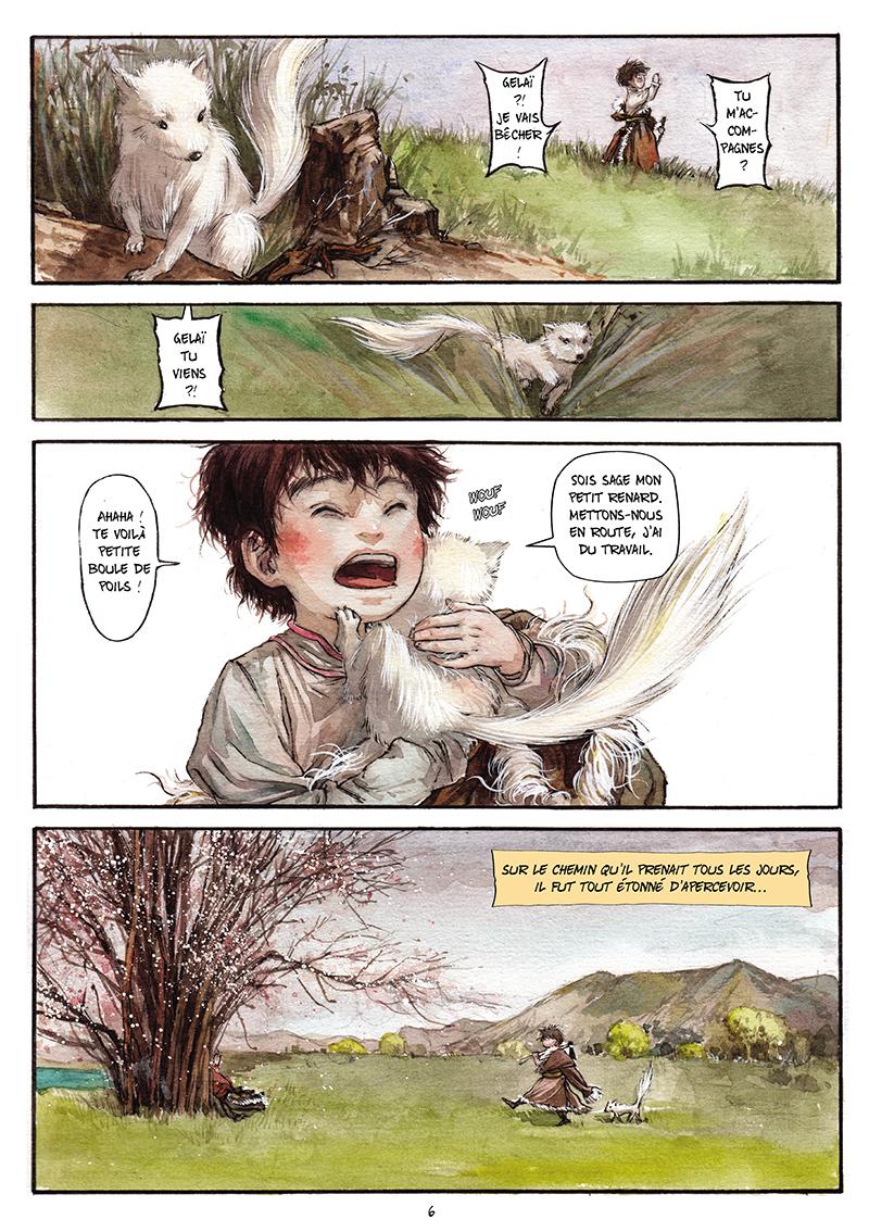 Extrait n°5 de la bd tome 1 par Chao Fan (Riz sauté)