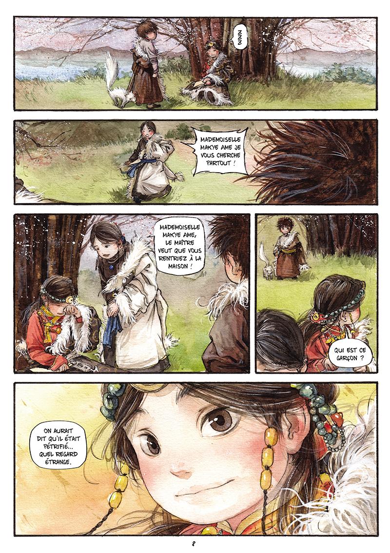Extrait n°7 de la bd tome 1 par Chao Fan (Riz sauté)