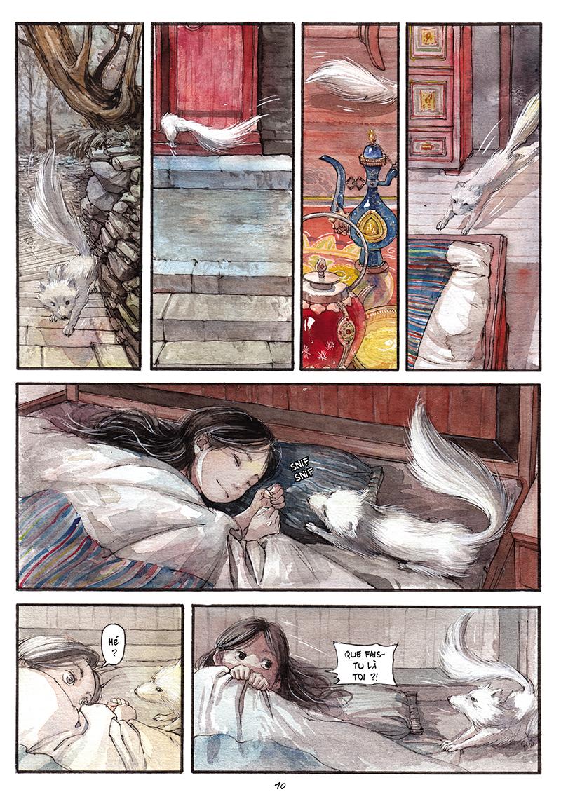 Extrait n°9 de la bd tome 1 par Chao Fan (Riz sauté)