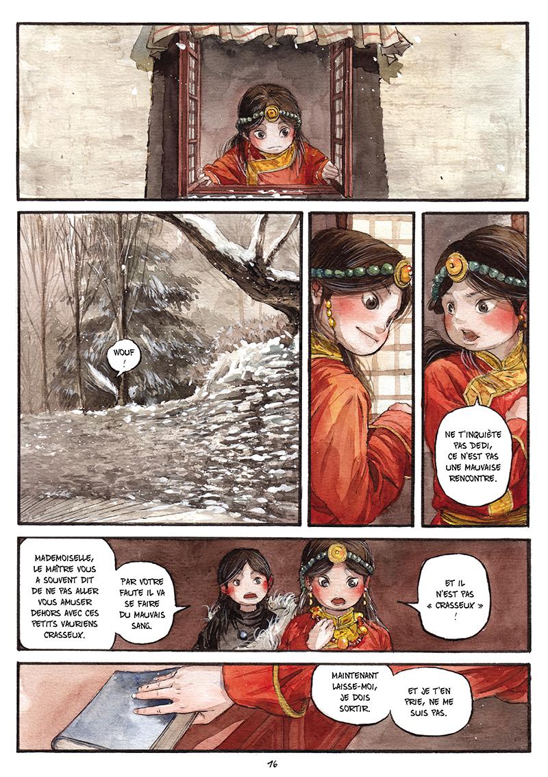 Extrait n°15 de la bd tome 1 par Chao Fan (Riz sauté)