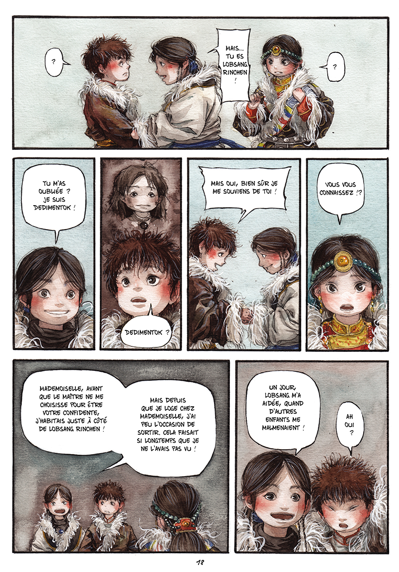 Extrait n°17 de la bd tome 1 par Chao Fan (Riz sauté)