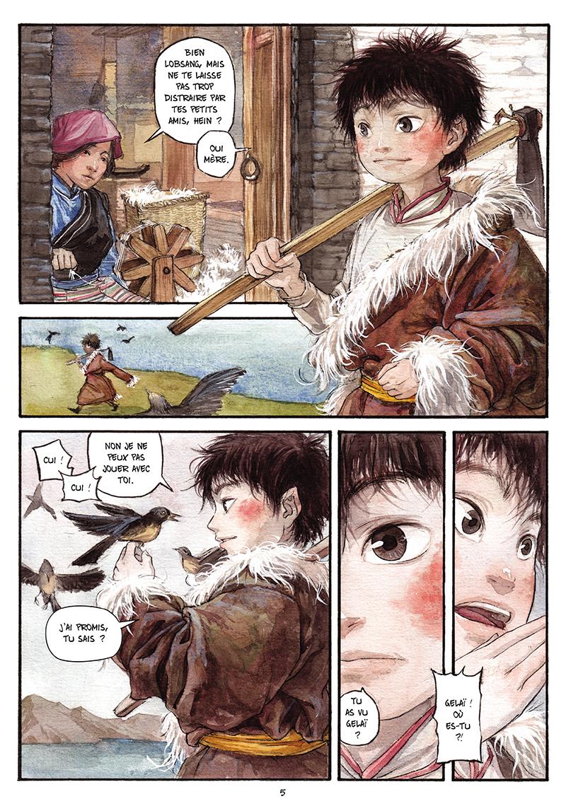 Extrait n°4 de la bd tome 1 par Chao Fan (Riz sauté)