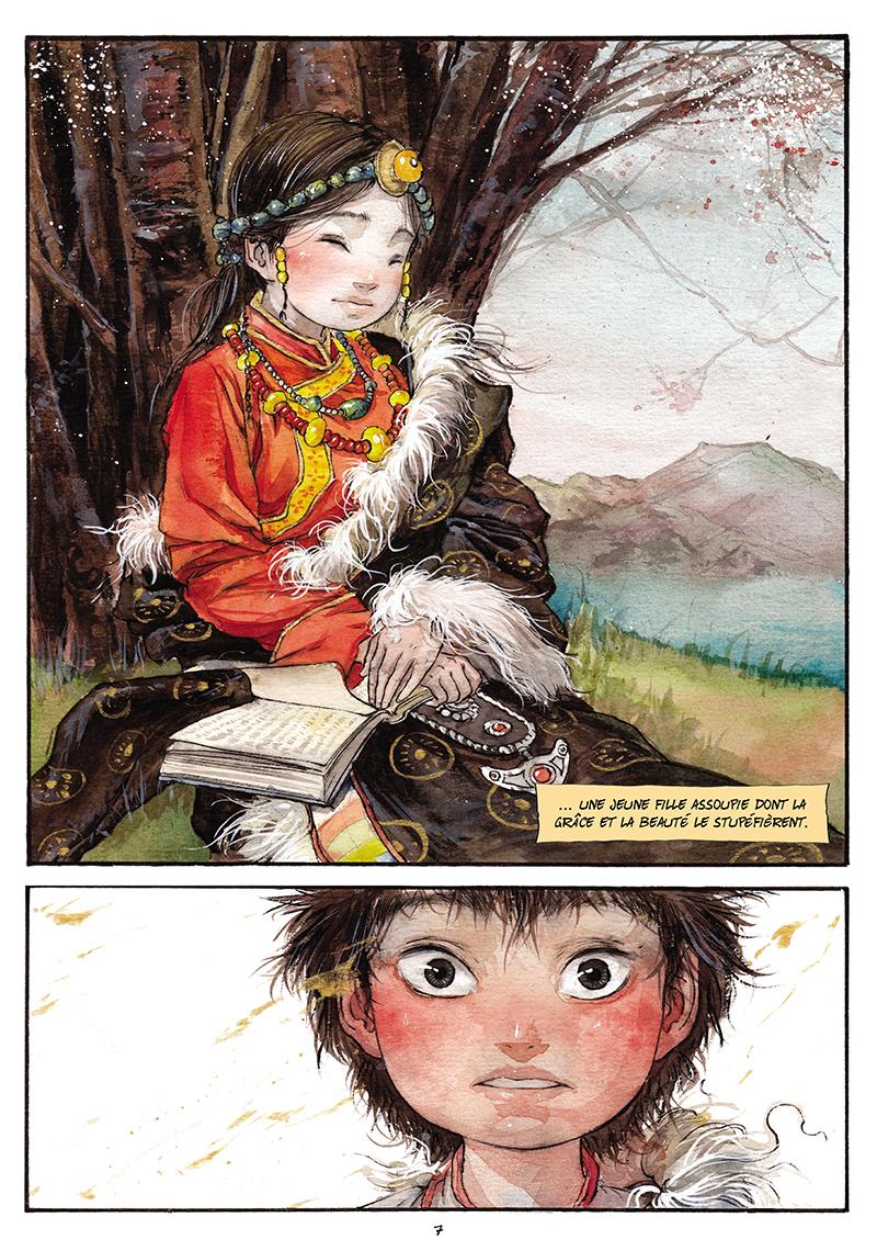 Extrait n°6 de la bd tome 1 par Chao Fan (Riz sauté)