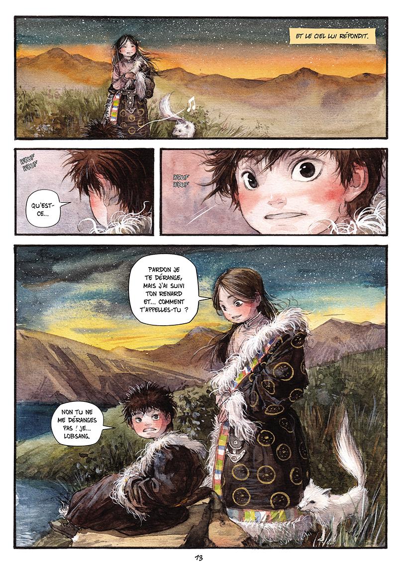 Extrait n°12 de la bd tome 1 par Chao Fan (Riz sauté)