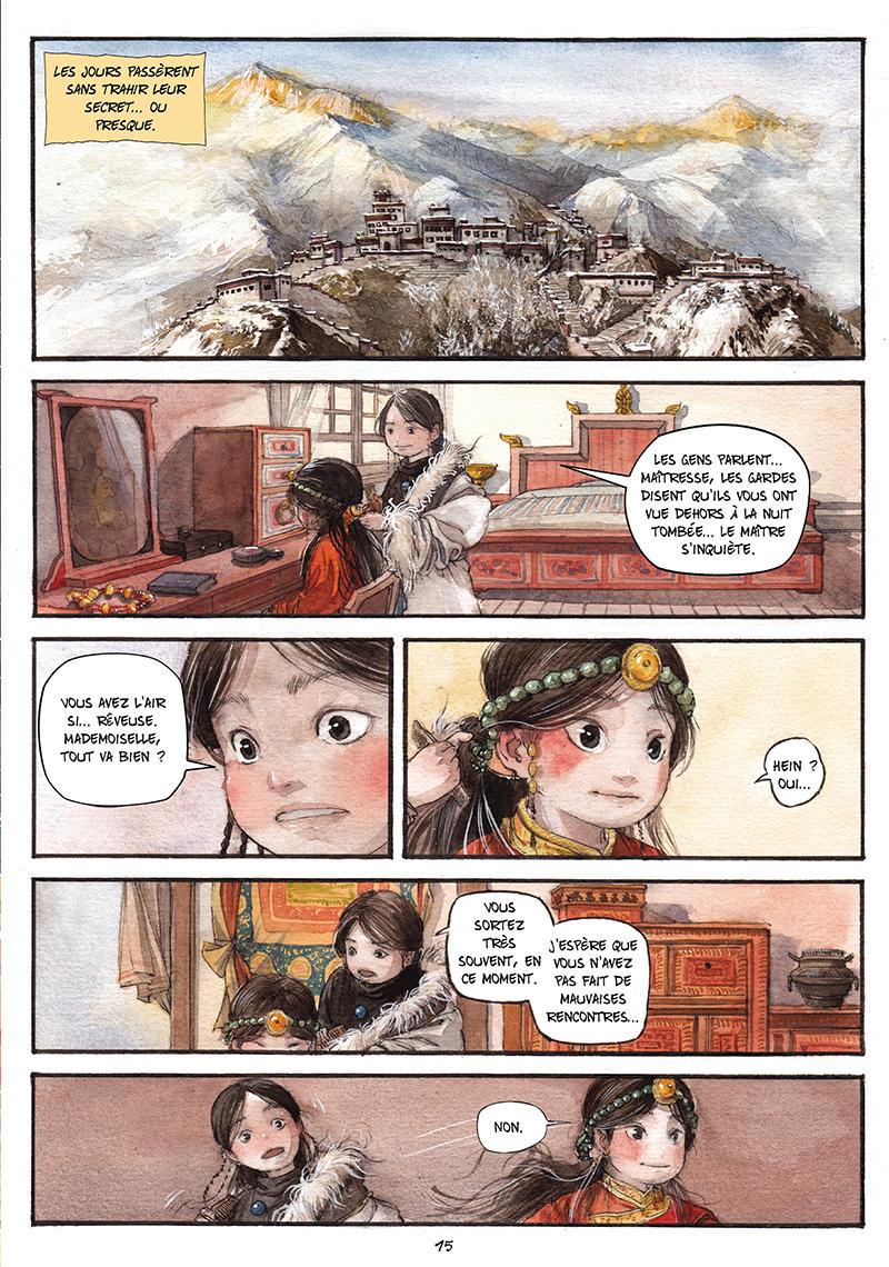 Extrait n°14 de la bd tome 1 par Chao Fan (Riz sauté)