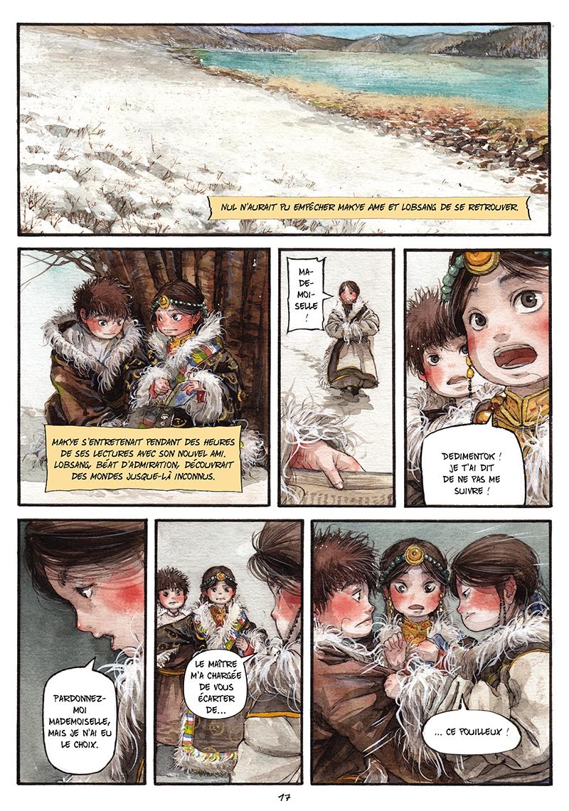 Extrait n°16 de la bd tome 1 par Chao Fan (Riz sauté)