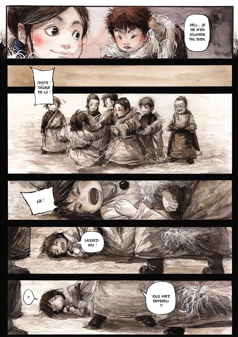 Extrait n°18 de la bd tome 1 par Chao Fan (Riz sauté)