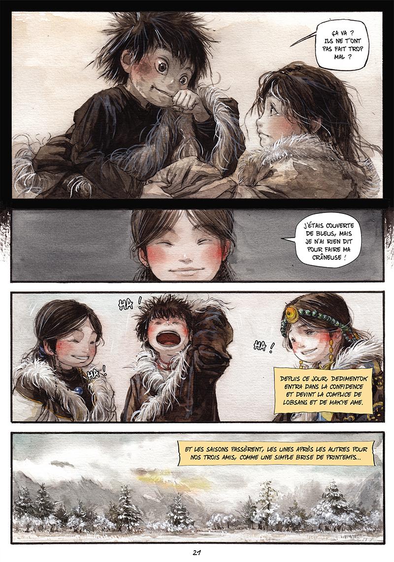 Extrait n°20 de la bd tome 1 par Chao Fan (Riz sauté)