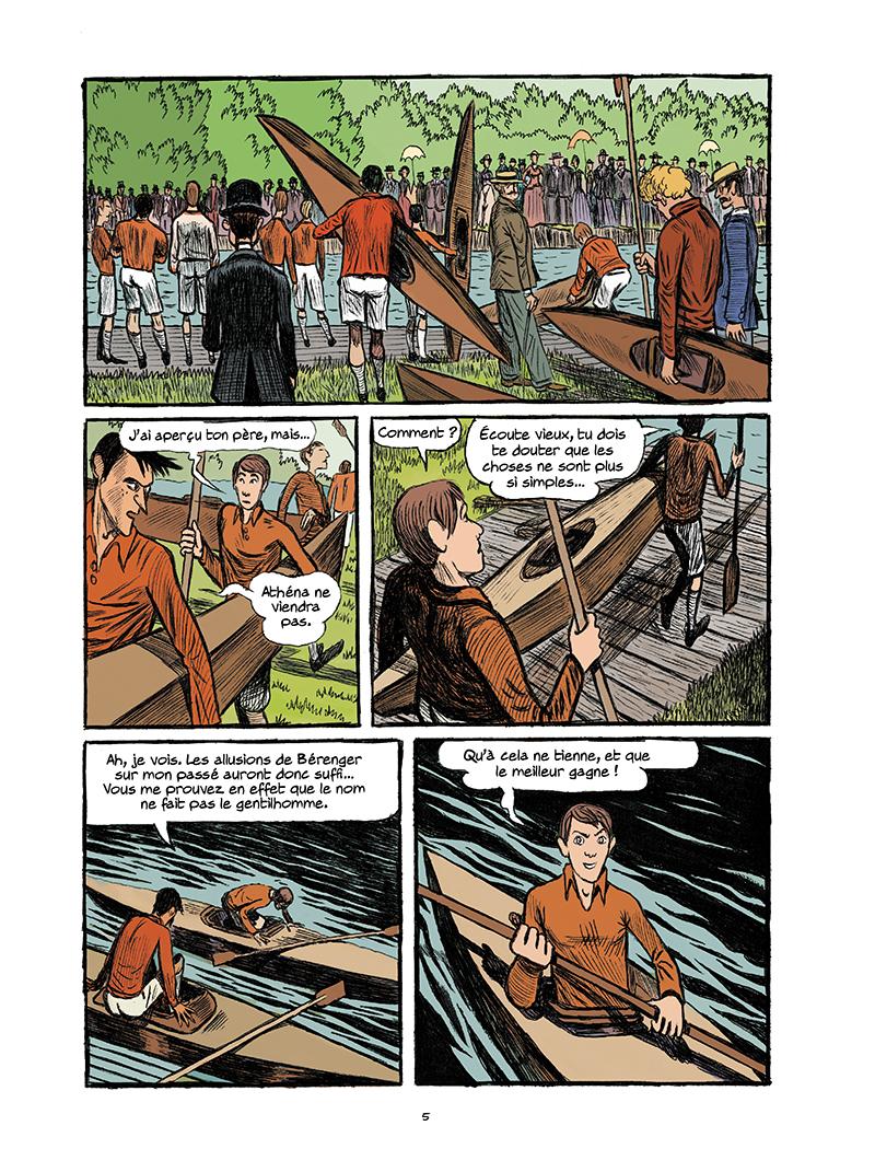 Extrait n°3 de la bd tome 3 par Galopin, Marie