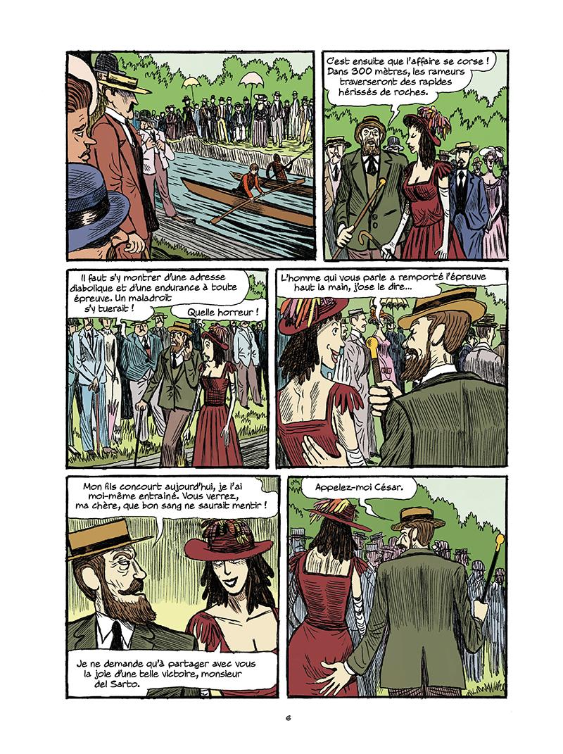 Extrait n°4 de la bd tome 3 par Galopin, Marie