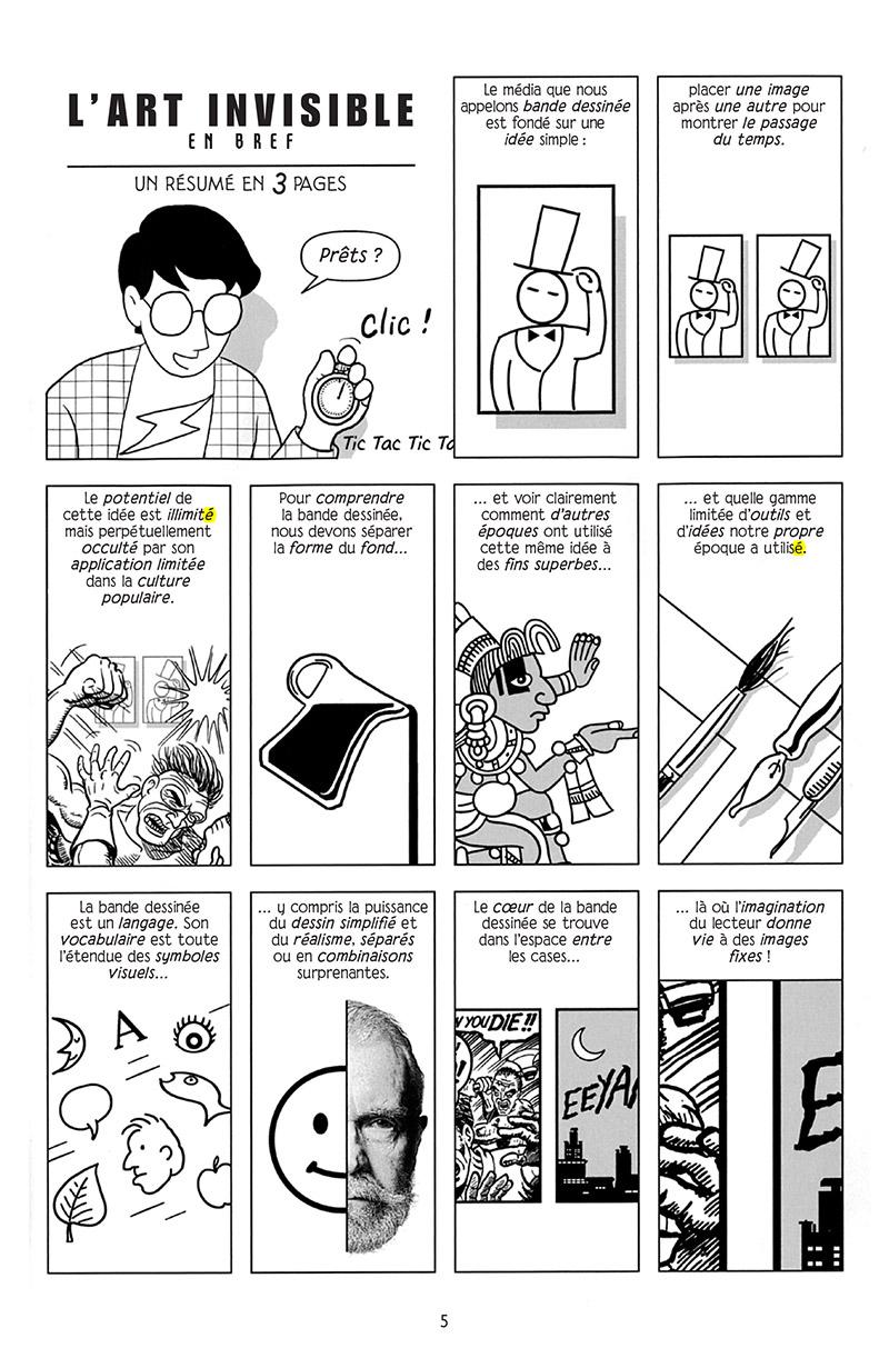 Extrait n°1 de la bd Réinventer la bande dessinée par Scott McCloud