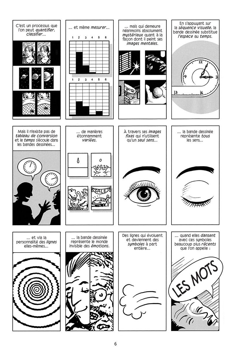 Extrait n°2 de la bd Réinventer la bande dessinée par Scott McCloud