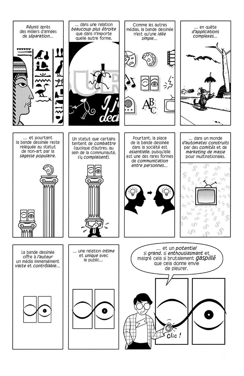 Extrait n°3 de la bd Réinventer la bande dessinée par Scott McCloud