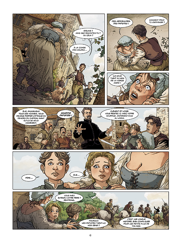 Extrait n°4 de la bd tome 1 par Pierre Boisserie