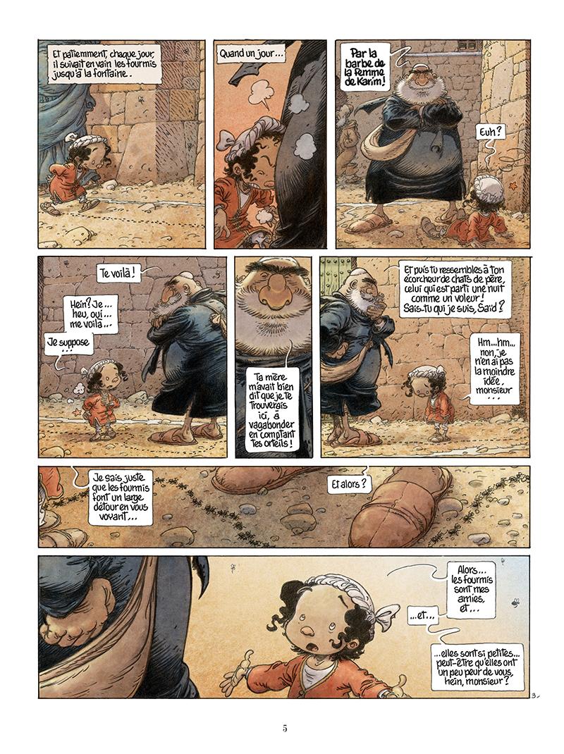 Extrait n°3 de la bd Là où vont les fourmis par Frank Le Gall