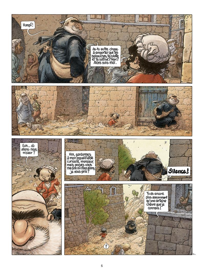 Extrait n°4 de la bd Là où vont les fourmis par Frank Le Gall