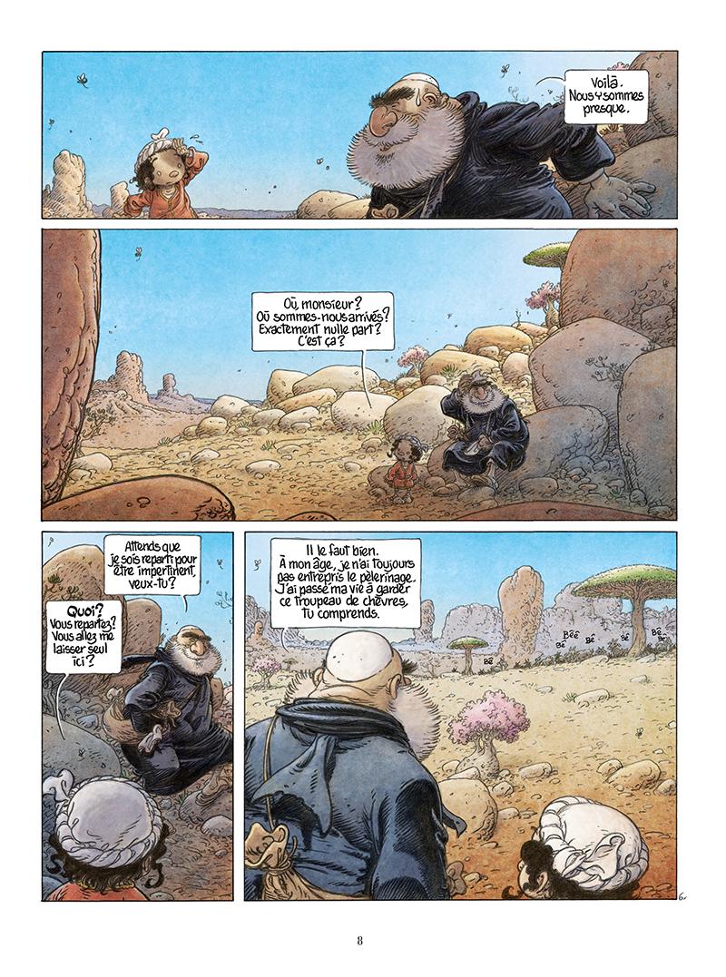 Extrait n°6 de la bd Là où vont les fourmis par Frank Le Gall