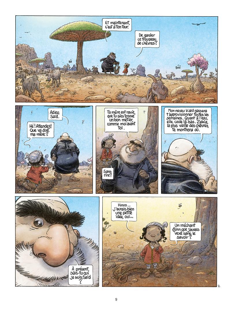 Extrait n°7 de la bd Là où vont les fourmis par Frank Le Gall