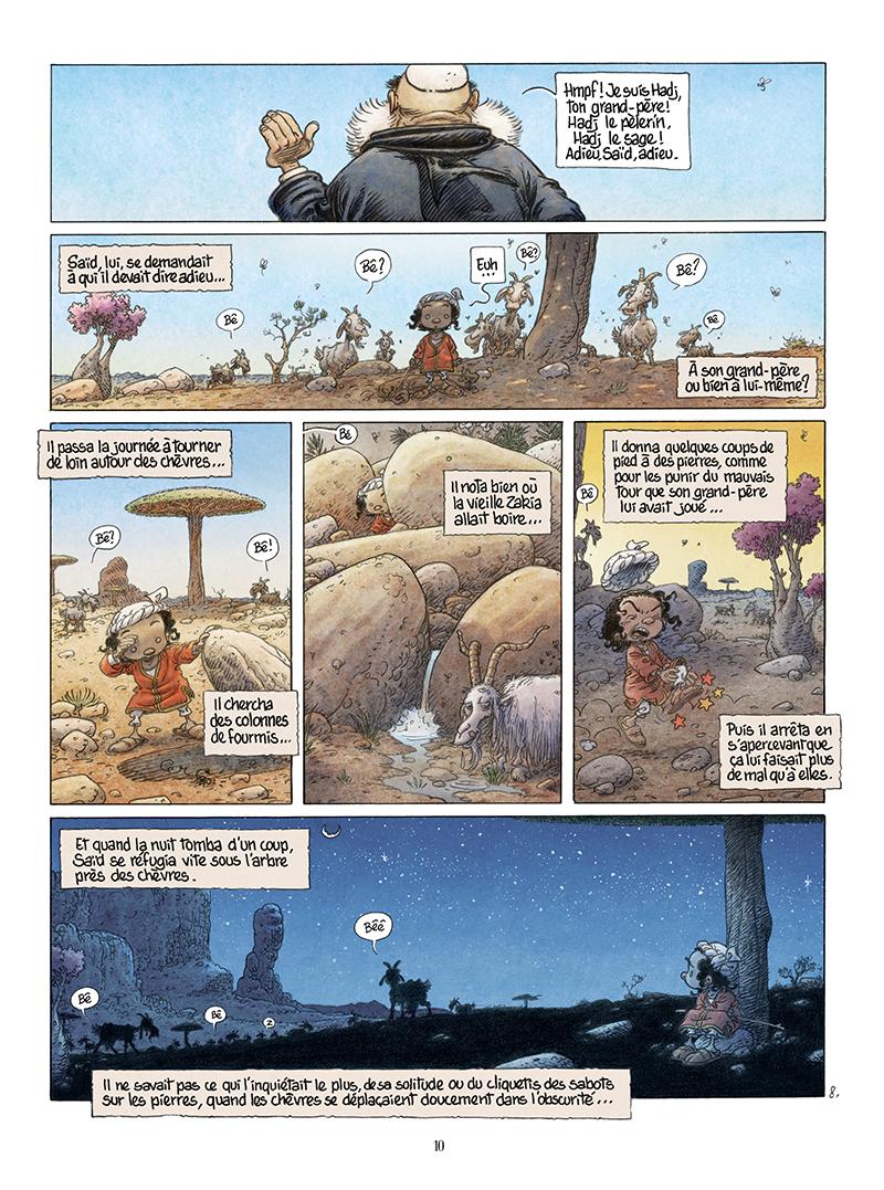 Extrait n°8 de la bd Là où vont les fourmis par Frank Le Gall