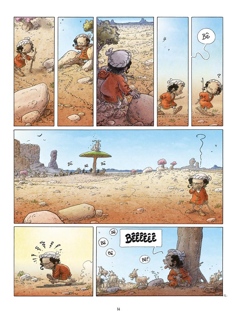 Extrait n°12 de la bd Là où vont les fourmis par Frank Le Gall