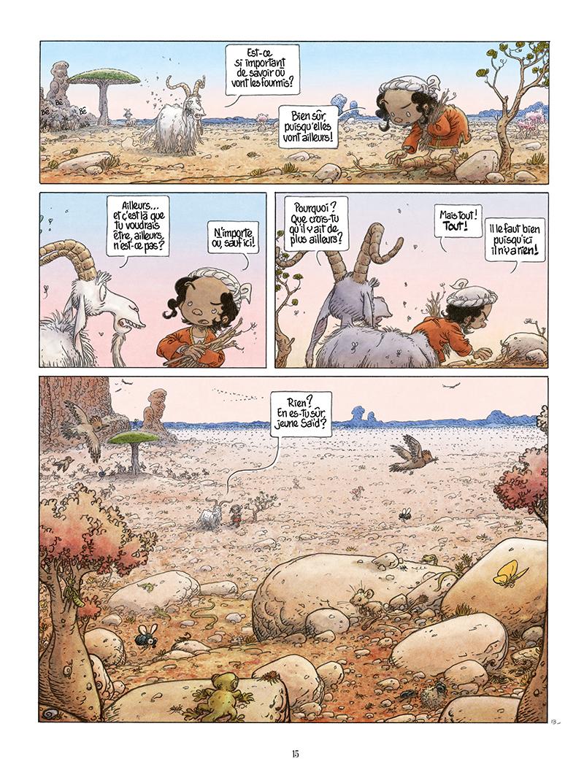 Extrait n°13 de la bd Là où vont les fourmis par Frank Le Gall