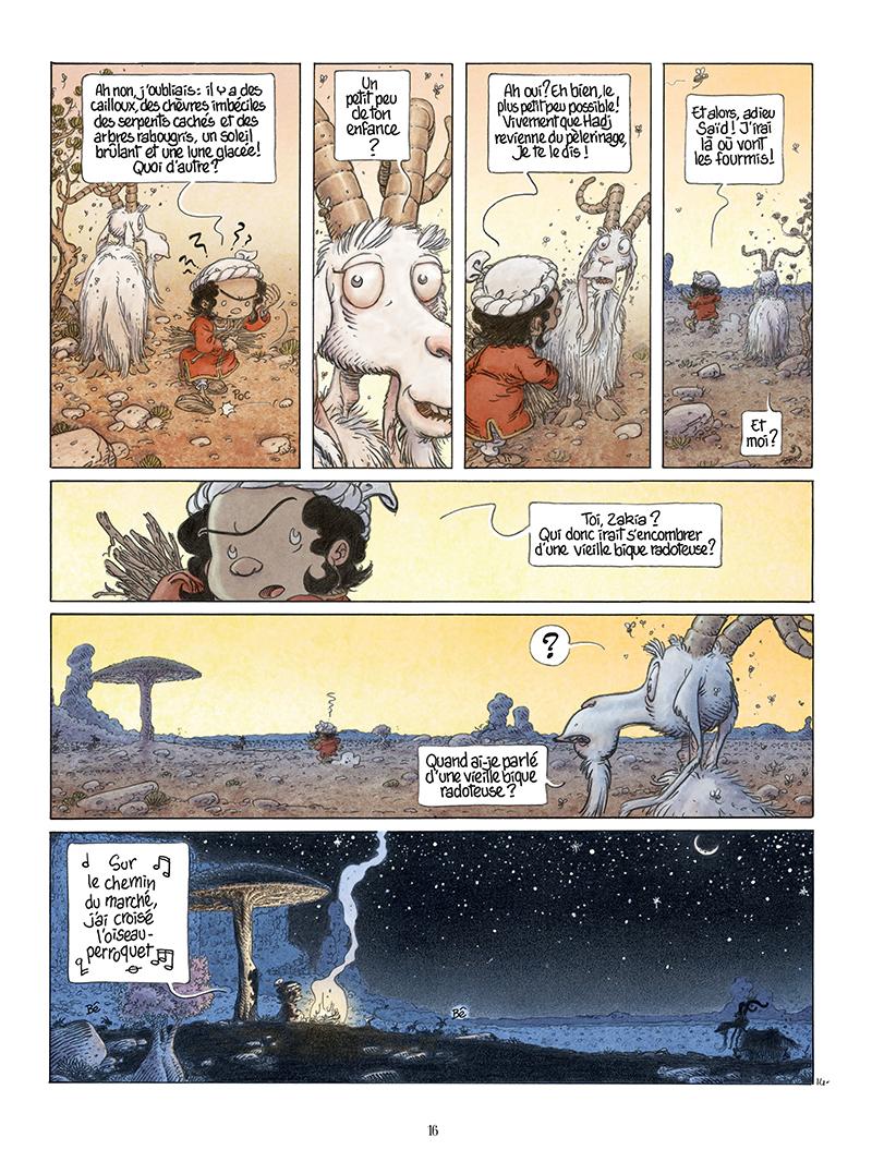 Extrait n°14 de la bd Là où vont les fourmis par Frank Le Gall