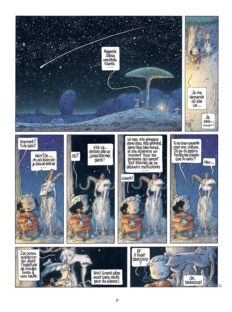 Extrait n°15 de la bd Là où vont les fourmis par Frank Le Gall