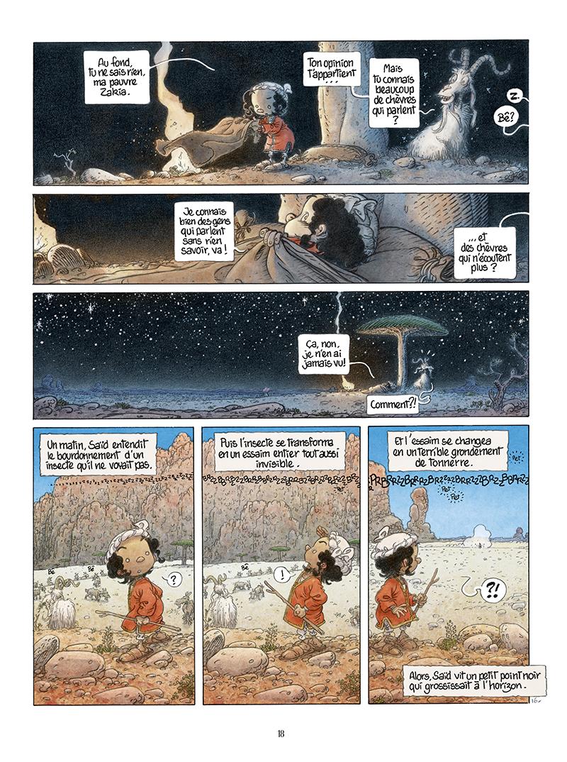 Extrait n°16 de la bd Là où vont les fourmis par Frank Le Gall
