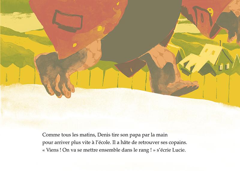 Extrait n°1 de la bd La carapace de Denis par Arnaud Nebbache