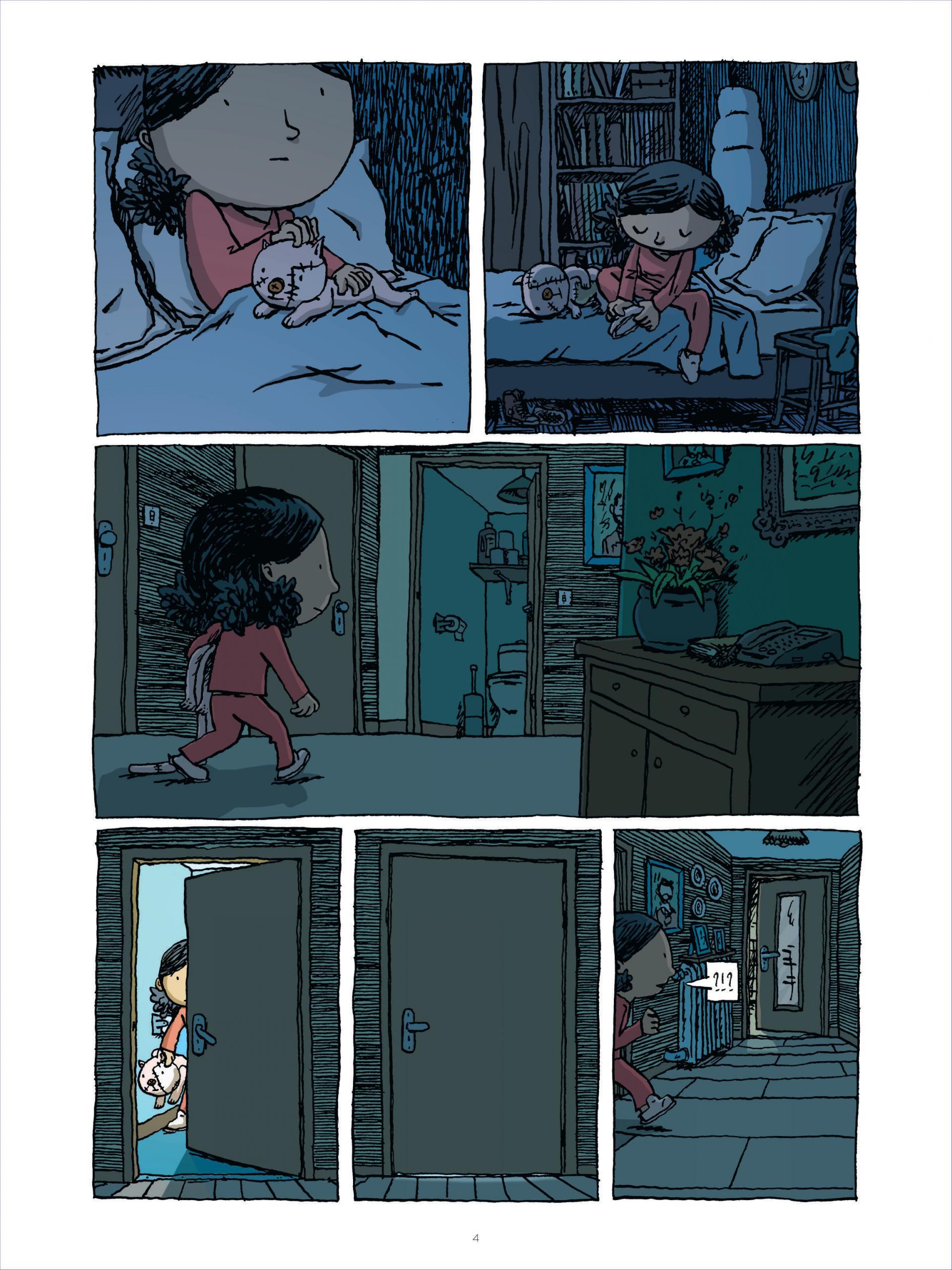 L' Enfant cachée