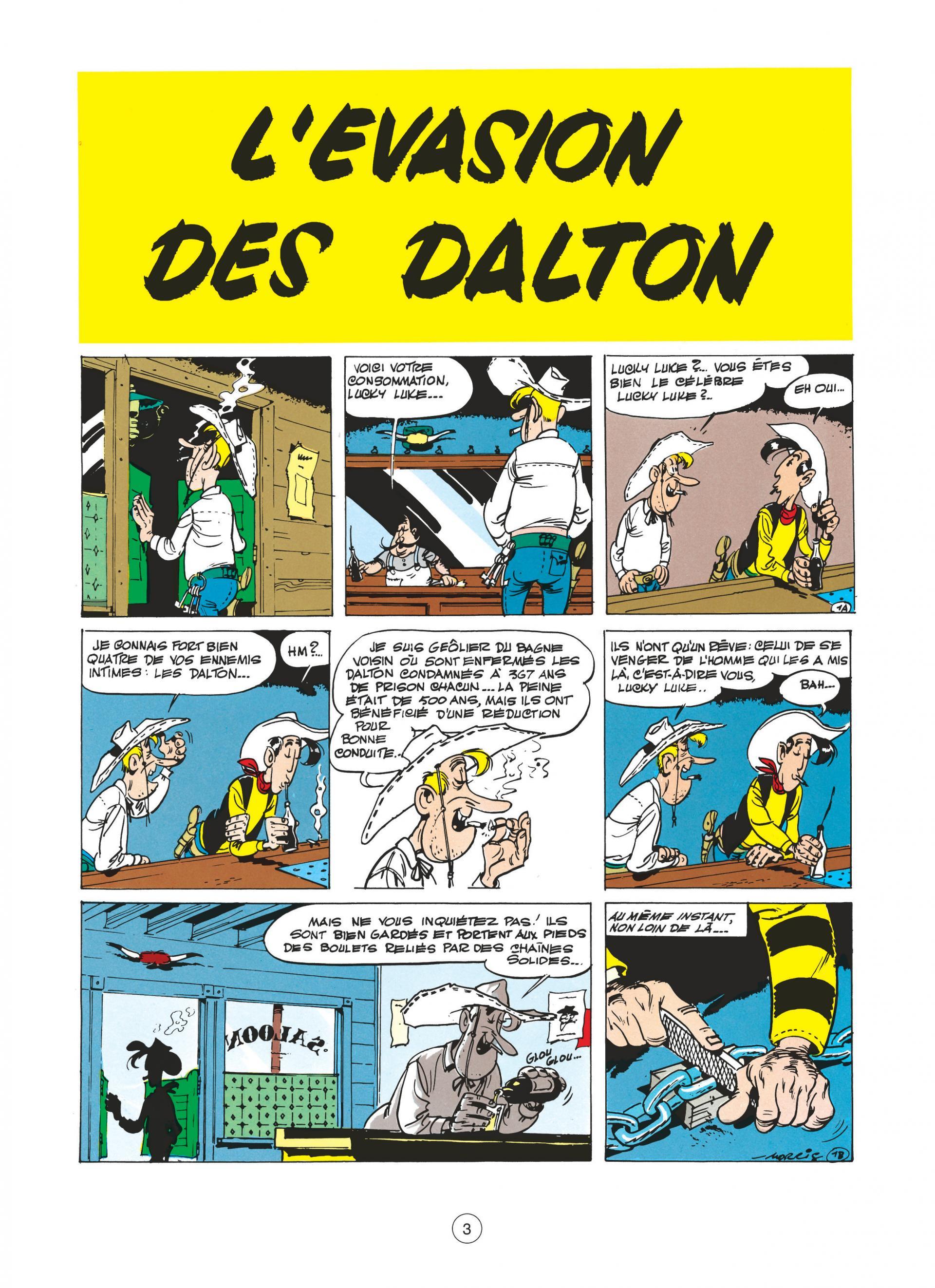 L'évasion des Dalton