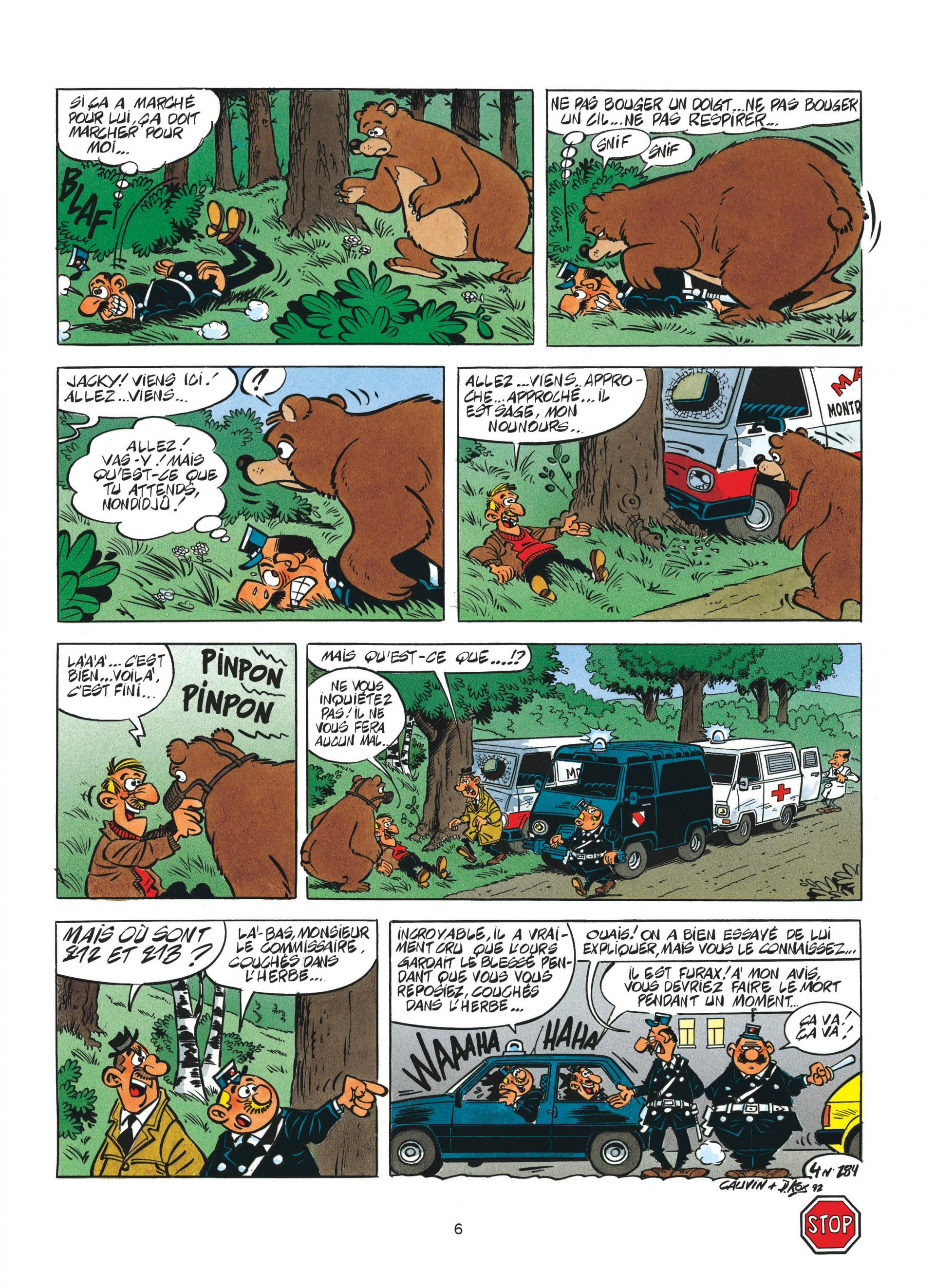 L'appeau de l'ours
