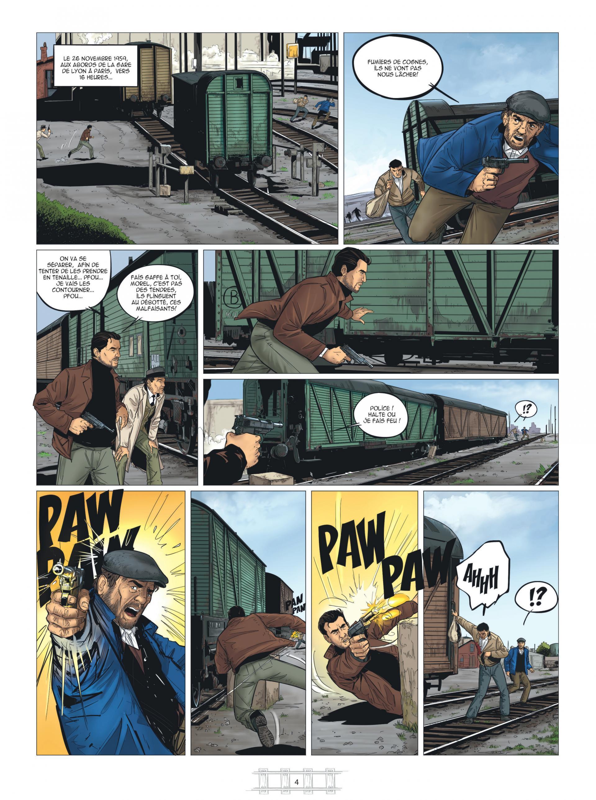 La Brigade du Rail T.01 - le Tueur du Lyon-Geneve