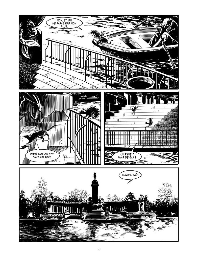 Extrait n°3 de la bd Au fil de l'eau par Juan Diaz Canales