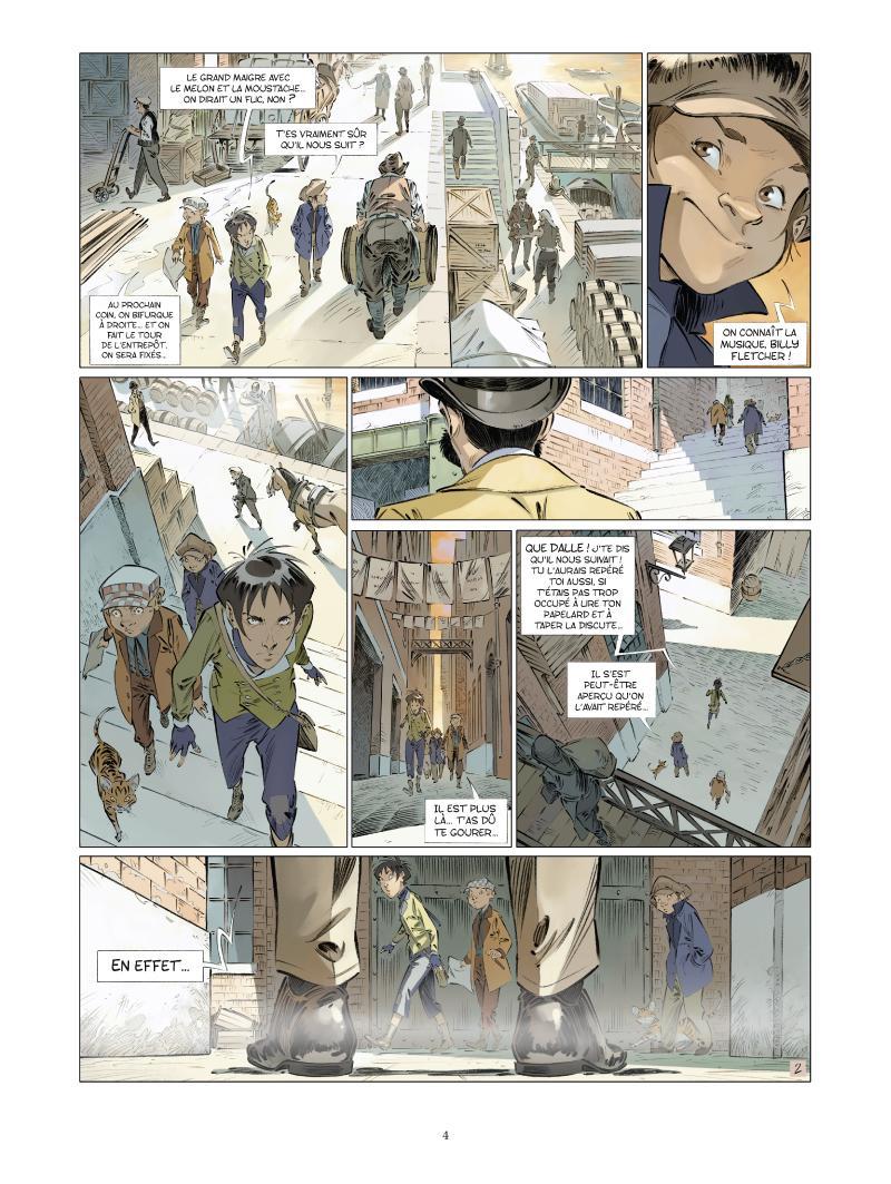 Extrait n°2 de la bd tome 5 par Jean-Blaise Djian