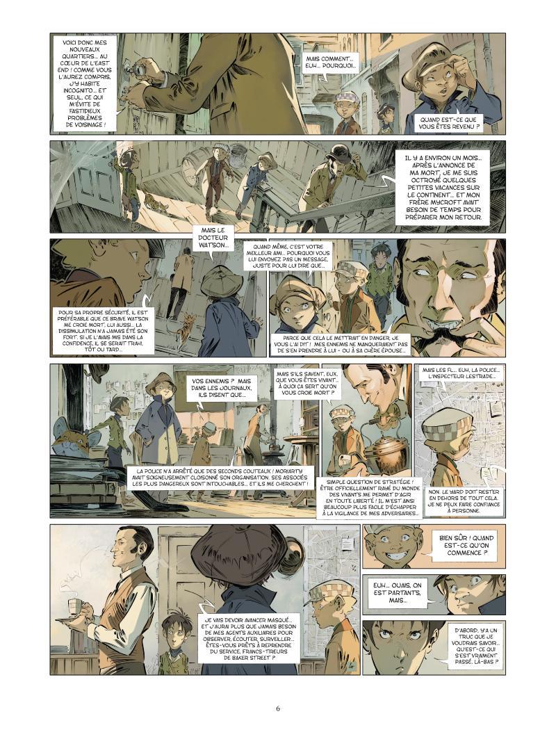Extrait n°4 de la bd tome 5 par Jean-Blaise Djian
