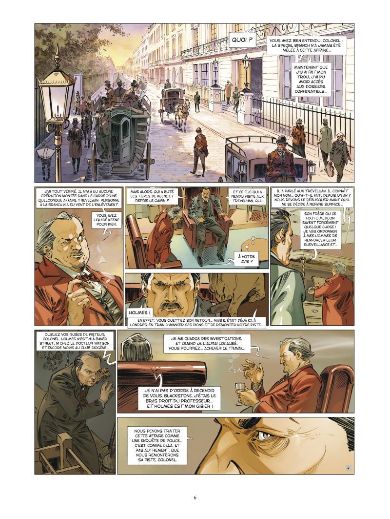 Extrait n°4 de la bd tome 6 par Jean-Blaise Djian