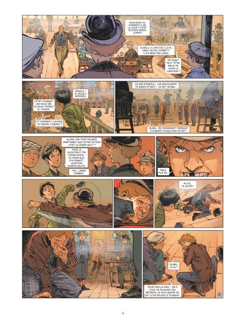Extrait n°4 de la bd tome 7 par Jean-Blaise Djian
